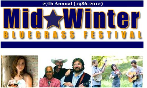 27th Mid-Winter Bluegrass Festival