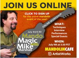 ArtistWorks Mandolin Workship by Mandolin Cafe