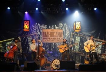 Avett Brothers at 10th American Music Assoc.
