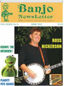 Banjo Newsletter April 2012