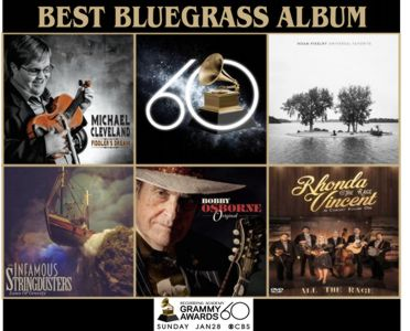 Best Bluegrass Album Nominations