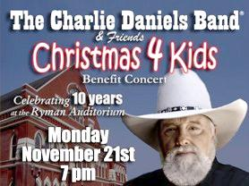 Charlie Daniels 10th Christmas 4 Kids