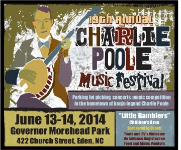 Charlie Poole Music Festival 2014