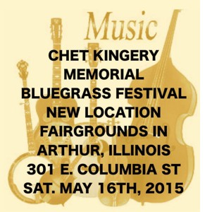 Chet Kingery Memorial Bluegrass Festival