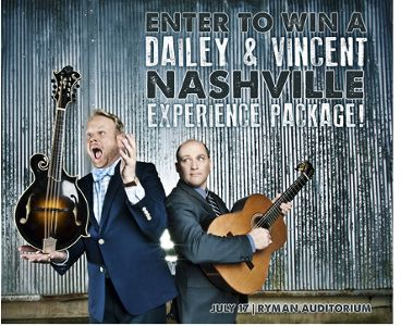 Dailey & Vincent Nashville Experience