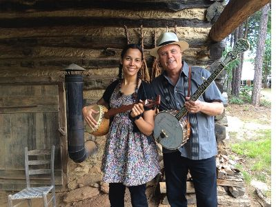 David Holt and Rhiannon Giddens