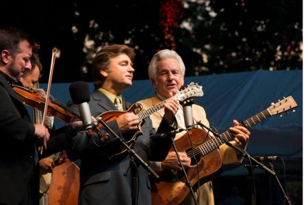 Del McCoury Band at ROMP
