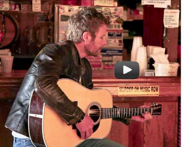 Dierks Bentley with Martin guitar