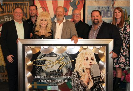 Dolly Parton 100-Million Sold Award
