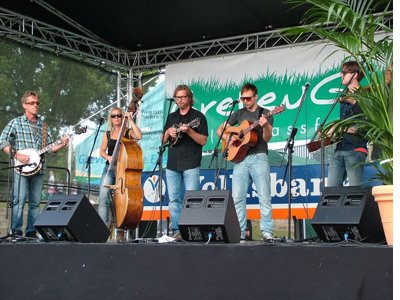 Sweden's Downhill Bluegrass Band
