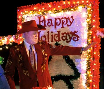 Doyle Lawson Leads Bristol Christmas Parade as Grand Marshal