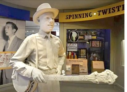 Earl Scruggs Center Statue
