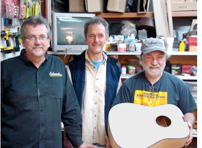 Jimmy Edmonds, Gerald Anderson, Wayne Henderson