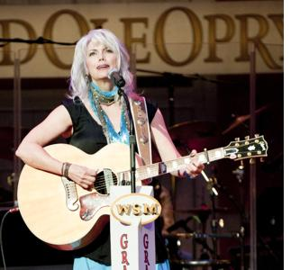 Emmylou Harris at the Grand Ole Opry