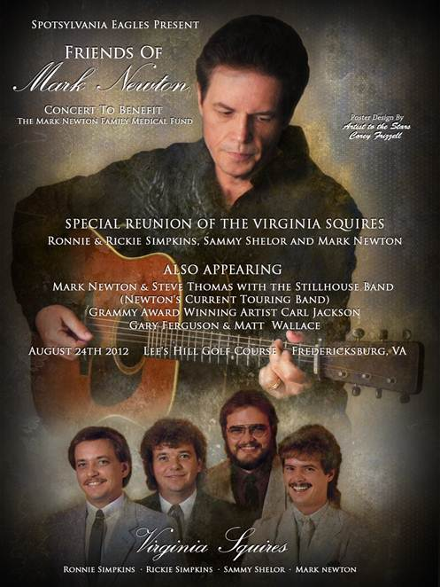 Friends of Mark Newton Benefit with Virginia Squires