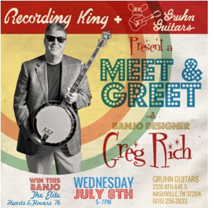 Meet & Greet with Greg Rich