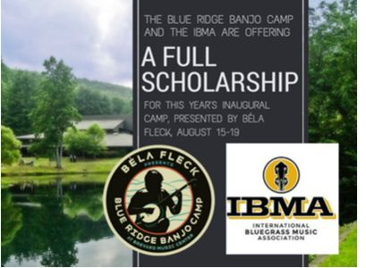 IBMA & Blue Ridge Banjo Camp Scholarship