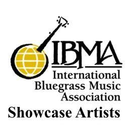 IBMA Showcase Artists