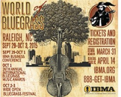 IBMA World of Bluegrass 2015