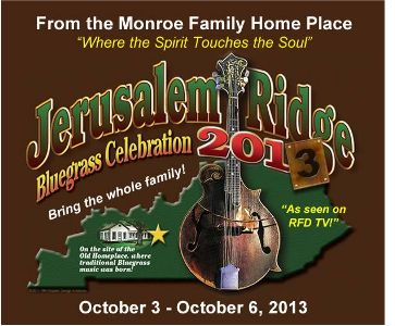 Jerusalem Ridge Bluegrass Music Festival