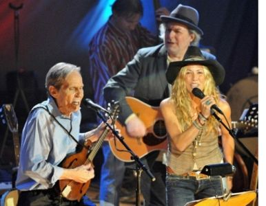 Levon Helm, Sheryl Crow, Buddy Miller by Ray Kennedy