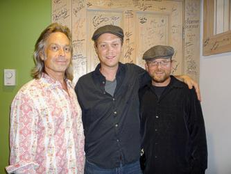 Jim Lauderdale, host of Music City Roots; Andrew Peterson; musician Ron Block