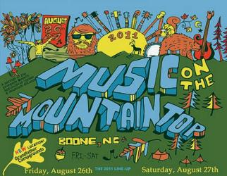 Music On The Mountain Top 2011