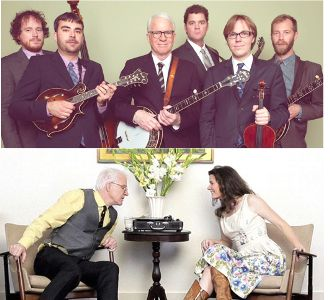 Steve Martin, Steep Canyon Rangers, Edie brickell collage