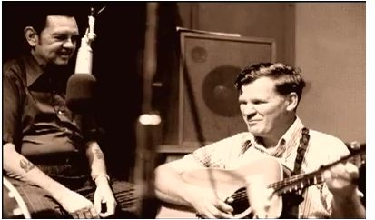 Merle Travis and Doc Watson