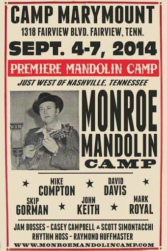 Bill Monroe Mandolin Camp 2014