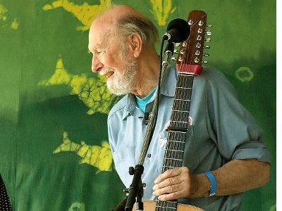 Pete Seeger, Photo by Anthony Pepitone
