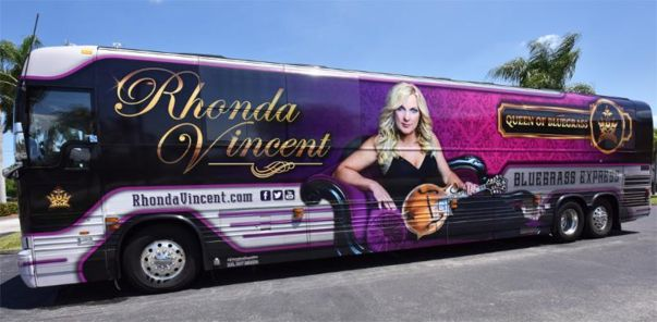 Rhonda Vincent Bus Wrap