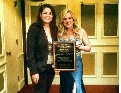 Lizzy Long with Rhonda Vincent