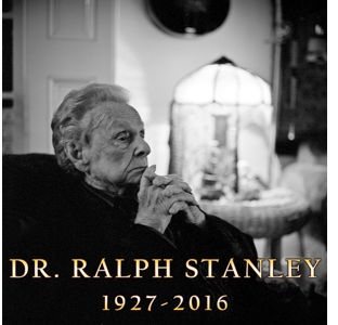 Last Of The First Generation Dr Ralph Stanley Dies At 89 Cybergrass Bluegrass Music News
