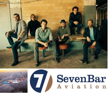 Steep Canyon Rangers and SevenBar Aviation