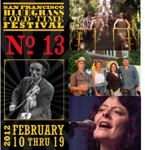 13th Annual San Francisco Bluegrass and Old-Time Festival