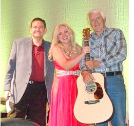 Joe Mullins, Rhonda Vincent and Bill Breeze