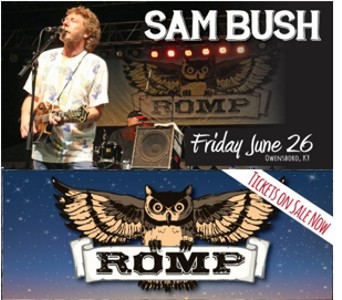 Sam Bush at ROMP 2015
