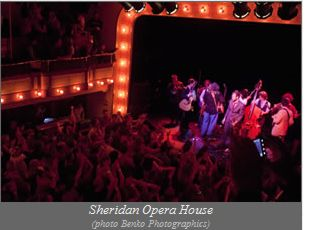 Sheridan Opera House photo Benko Photographics