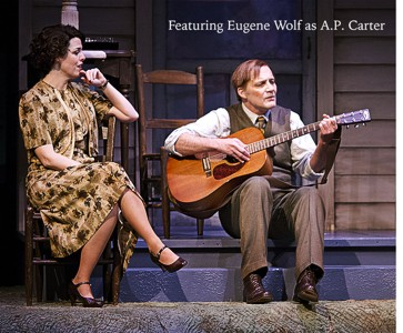 "Eugene Wolf portrays A.P. Carter in a performance of ""Keep on the Sunny Side"""