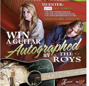 The Roys Guitar Giveaway