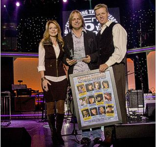 The Roys with Inspirational Country Singl award