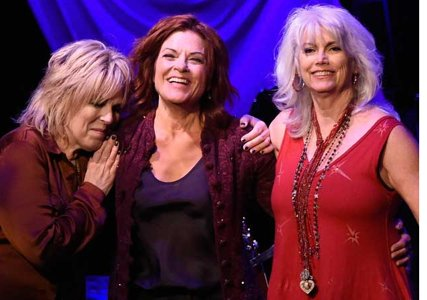 Lucinda Williams, Rosanne Cash, Emmylou Harris