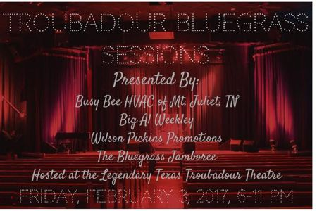 The Troubadour Bluegrass Sessions
