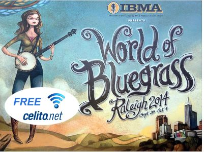 Celito WiFi at World of Bluegrass