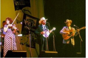 Bill Monroe with Alison Krauss