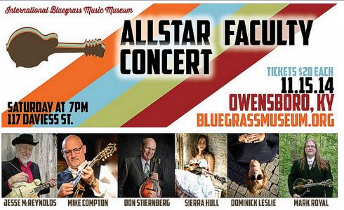 IBMM AllStar Mandolin Faculty Concert