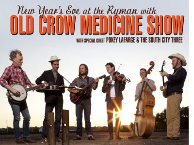 Old Crow Medicine Show New Years at the Ryman