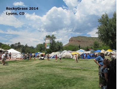 RockyGrass 2014 tents